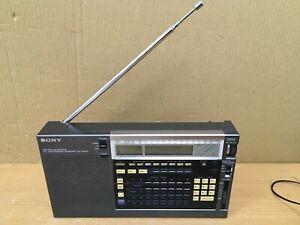 Vintage Sony Radio ICF-2001 FM/AM PLL Synthesised Receiver