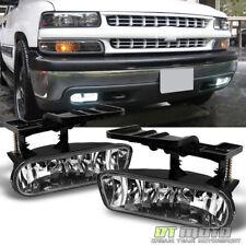 1999-2002 Chevy Silverado 00-06 Suburban Tahoe Bumper Driving Lamps Fog Lights