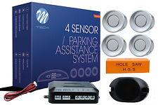 autolampen-hsk Einparkhilfe  Rückfahrwarner PDC - CP7 silberne Sensoren +TOP+