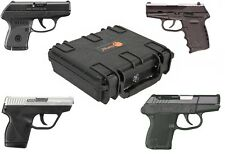 E090 Handgun Carry Case for Ruger LCP Taurus PT738 SCCY CPX-2 KelTec P-3AT