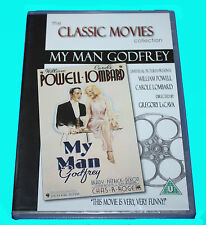 CLASSIC MOVIES COLLECTION - MY MAN GODFREY - DVD - NEW & SEALED BOX