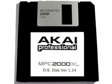 Akai MPC 2000XL Operating System Disk OS Ver 1.14 Floppy Disk