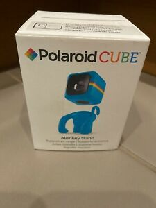 NEW BOX POLAROID CUBE ACT II HD VIDEO CAMERA MONKEY STAND BLUE TURQUOISE