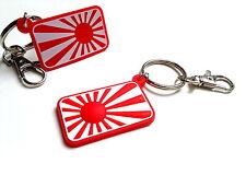 JDM keyring Japan flag Rising SUN as sticker Honda Nissan Mazda Toyota key chain