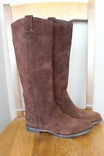 New Madewell for J Crew Suede ARCHIVE Boots Brown Sz 6.5 $278 16146