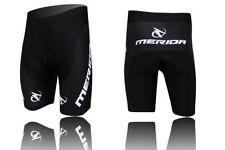 Merida Men's Cycling Shorts Gel Padded Biking Bicycle Short Pants Tights Black