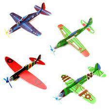 3Pcs DIY Flying Glider Planes Educational Toys For Children Hand Throwing Gift W