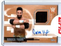 WWE Darren Young 2017 Topps Undisputed Bronze Autograph Relic Card SN 61 of 99