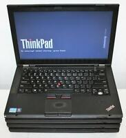 """4x Lot Lenovo Thinkpad T430s 14"""" Intel Core i5 3rd 2.6GHz 4GB 120GB-SSD WiFi BT"""