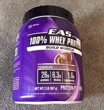 New Myoplex GNC Gym EAS 100% Classic Whey Protein Powder Chocolate 2 LB - 6/18