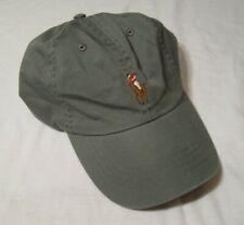Polo Ralph Lauren Adjustable Baseball Hat/Cap NWT College Gray