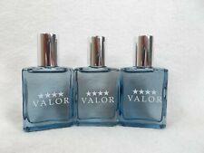 3 VALOR Eau de toilette Cologne Splash Fragrance for men by Dana