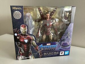 sh figuarts iron man Mark 85 Neuve Bandai Avengers Endgame