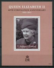 Antigua & Barbuda 2013 MNH Queen Elizabeth II 60th Coronation 1v S/S Stamps