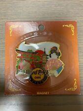 """2019 Japan Hard Rock Cafe Kyoto """"City Logo"""" Magnet"""