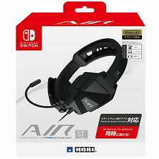 HORI Gaming headset AIR STEREO for Nintendo Switch JAPAN OFFICIAL IMPORT