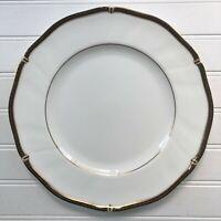 Wedgwood Windsor Black Dinner Plate Bone China Made in England
