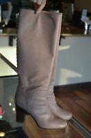 Authentic Valentino Love Stud Rockstud Lipstick Boots Size 40