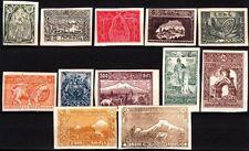 ARMENIA 1921 Definitive: National Motives #2. Mythology Ararat. IMPERF. 12v, MLH