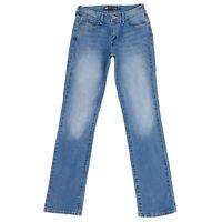 Levi's Demi Curve Women Blue Classic Rise Straight Fit Jeans Size W27 L32