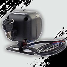 Universal Alarm Security Siren W/ Backup Battery Compact Design Car Marine Home