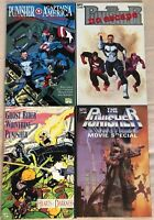PUNISHER - Four (4) Issue Graphic Novel Lot - Hearts of Darkness, No Escape, MOR