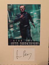 Simon Pegg Autograph- Star Trek- Signed 16x12 Mount- Handsigned & Genuine- AFTAL