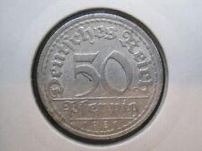 Deutsches Reich 50 Pfennig 1921 a (001)