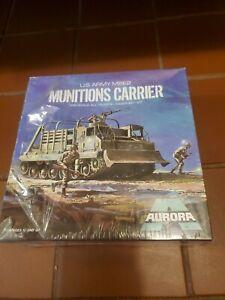 Aurora munitions Carrier 1973 Nib Unopened,but torn Cellophane