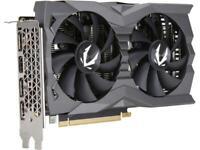 ZOTAC GAMING GeForce GTX 1660 AMP 6GB GDDR5 192-bit Gaming Graphics Card, Super