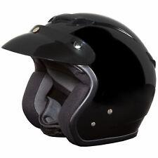Fulmer 359 Oasis Solid Open Face Helmet Black
