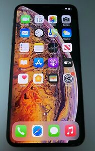 Apple iPhone XS Max 256GB Gold UNLOCKED A1921 CDMA GSM w/ WARRANTY Bundle
