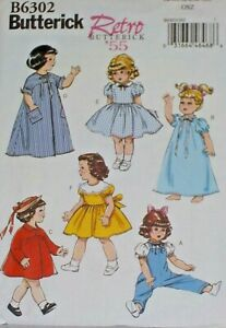 "Doll Clothing  Pattern --- Fits   18 ""   American Girl   6302"