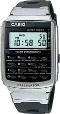Orologio Uomo Donna Casio Ca-506-1df Digitale Calcolatrice Alarm Chronograph WR