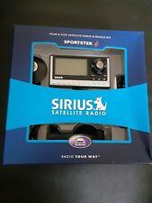 Sirius Sp4 Sportster 4 Satellite Radio Receiver. Pre-owned open box
