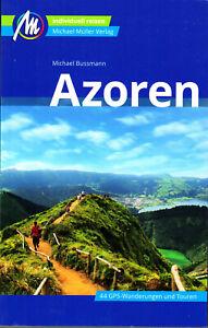 REISEFÜHRER AZOREN 2019/20, mit 42 Wanderungen, Michael Müller Verlag, ungelesen