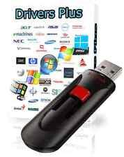 Windows Drivers Plus Flash USB Re-install Any Driver - For XP/Vista/7/8/10!