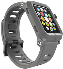 LUNATIK EPIK-004 Polycarbonate Case & Silicone Band Apple Watch Series 1 (Gray)