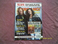 KERRANG No.317 THUNDER,ELECTRIC BOYS etc-IRON MAIDEN POSTER