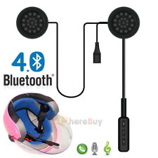 Bluetooth 4.0 Wireless Motorcycle Helmet Headset Speaker Handsfree Call Control