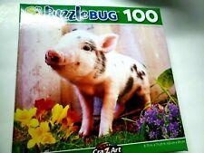 Puzzle Bug 100 Piece little pink piguet Puzzle