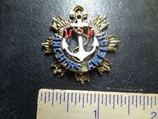 1940s-50s U.S. NAVY SWEETHEART PENDANT - ANCHORS AWEIGH  #NM66