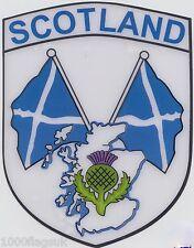 Scotland St Andrews Twin Saltire Flag Vinyl Car Window Sticker