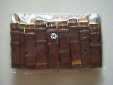 Brand New 20mm Brown Wrist Watch Band Lot of 50 Pcs(jin)