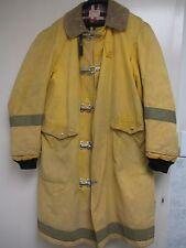 Vintage Medford Fire Police Turnout Bunker Jacket Coat Globe MFG Company 42