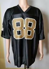 New Orleans Saints NFL Shockey #88 Black and Gold Jersey NWT Size Adult 2XL