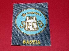 PANINI FOOTBALL 1978 ECUSSON JEAN SEC BASTIA SECB CORSICA FURIANI LIONS