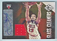 JOAKIM NOAH 2012/13 LIMITED GLASS CLEANERS JERSEY SIGNATURE AUTOGRAPH AUTO /49