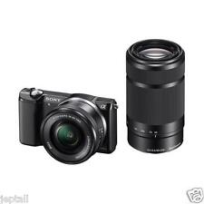 "Sony Alpha A6000Y 16-50mm 55-210mm  24.3mp 3"" Mirrorless Camera New Cod Jeptall"