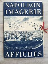 COLLECTION NAPOLEON  IMAGERIE AFFICHES 36 X 50 CM ANDRE ROSSEL 1969 VOIR PHOTO